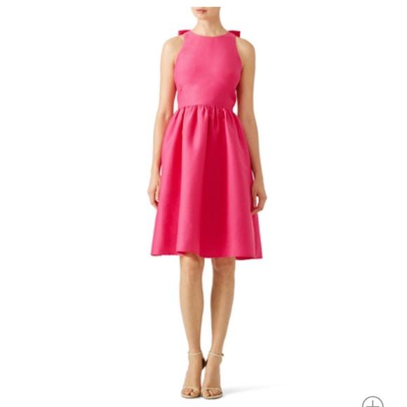 kate spade Dresses & Skirts - Kate Spade ♠️ Fuchsia Midi Dress